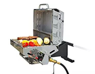 Best Rv Grills Of 2020 Gas Mounted Amp More Where You